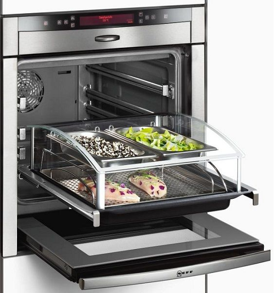 New Technology Steam oven for a steam-style of cooking, a reflection of an  overall trend toward a more efficient and healthier lifestyle.