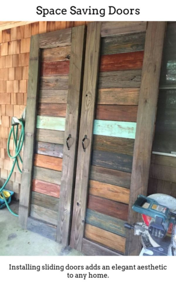 Sliding Doors Have Unique Exciting Spaces While Using Thermally Insulated Sliding And Foldable Doorways Grea Barn Wood Decor Making Barn Doors Diy Barn Door