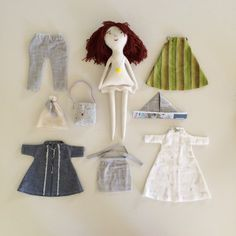 Jess Brown doll by Handmade by Carolyn