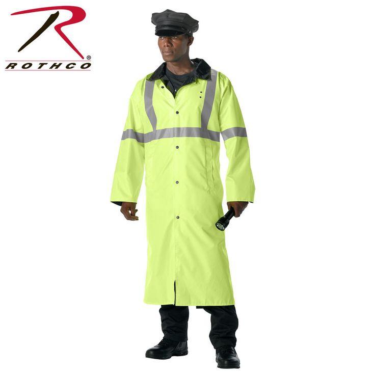 Rothco Reversible Reflective Rain Parka #3900 MSRP:$95.99-$98.99 NWT #Rothco #Parka