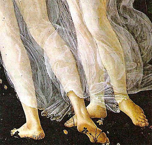 Sandro Botticelli, Primavera detail