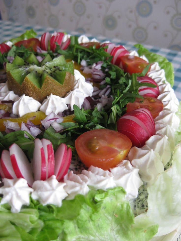 ÖNSKETÅRTOR: Vegansk smörgåstårta