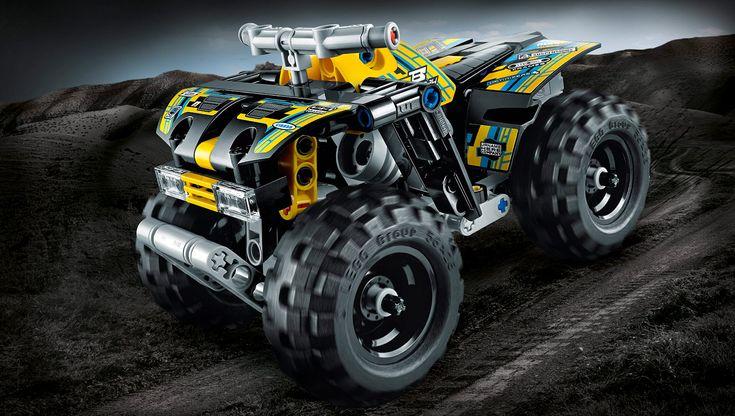 42034 Firehjuling - Produkter - LEGO.com