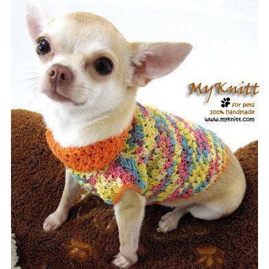 44 besten Crochet - Chihuahua Bilder auf Pinterest   Kleidung, Hunde ...
