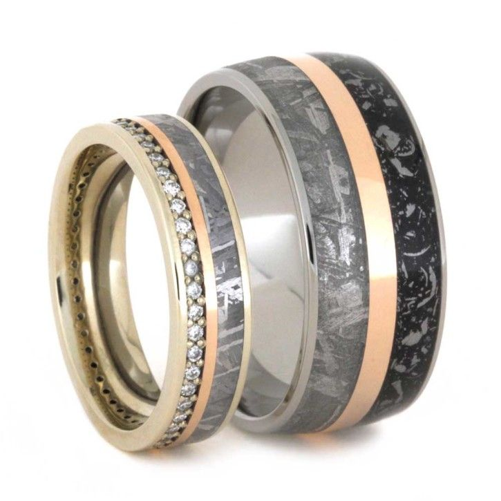 Best 25+ Meteorite wedding band ideas on Pinterest | Mens ...