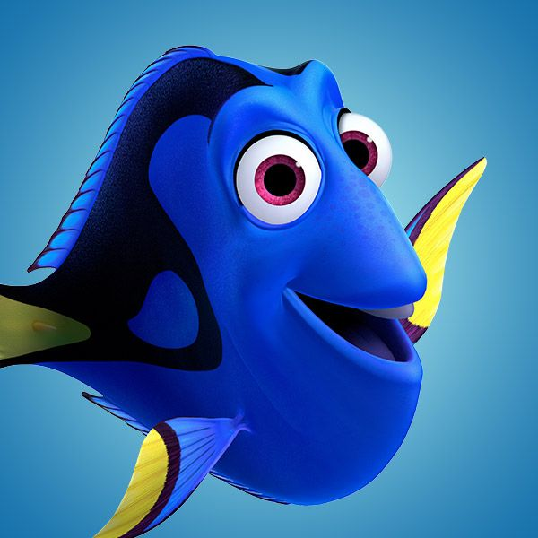 The characters Dory and Crush from the Disney movie Finding Nemo #dude #justkeepswimming