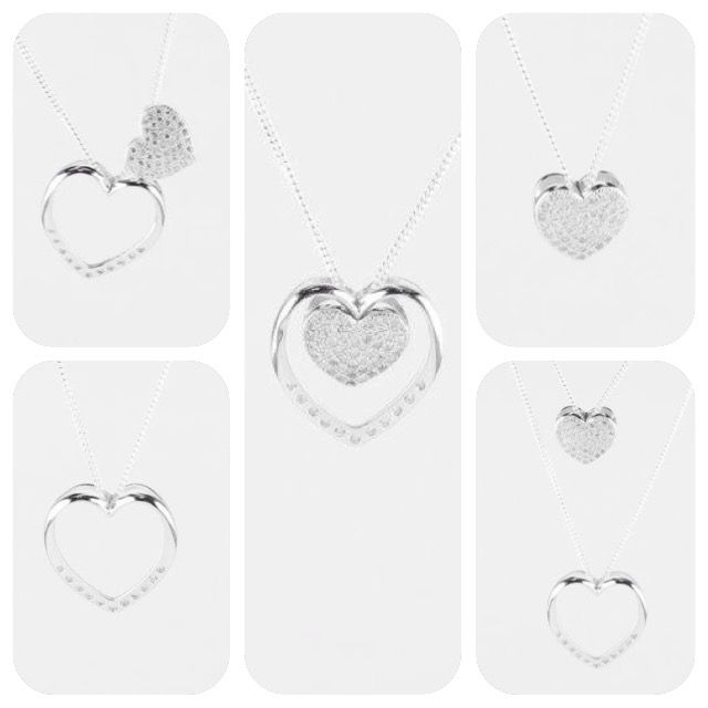 Connecting hearts. Meaningful sterling silver pendants. Versatile to wear.  Share with a loved one. Mother and daughter. Best friends. Aunty and niece. Sisters.