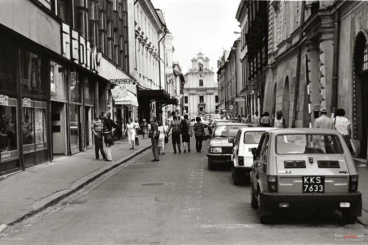 ul. Jana, św., Kraków - 1977 rok, stare zdjęcia
