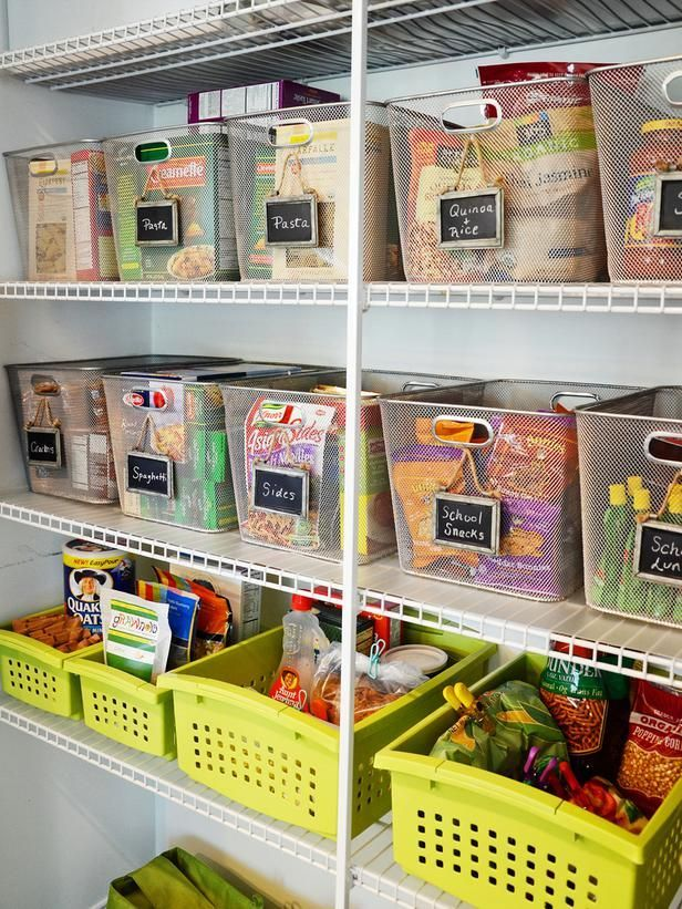10 Steps to an Organized Pantry : Rooms : Home & Garden Television