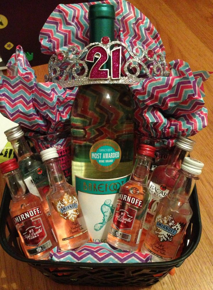 Gift Basket Ideas 21st Birthday Best Images About On
