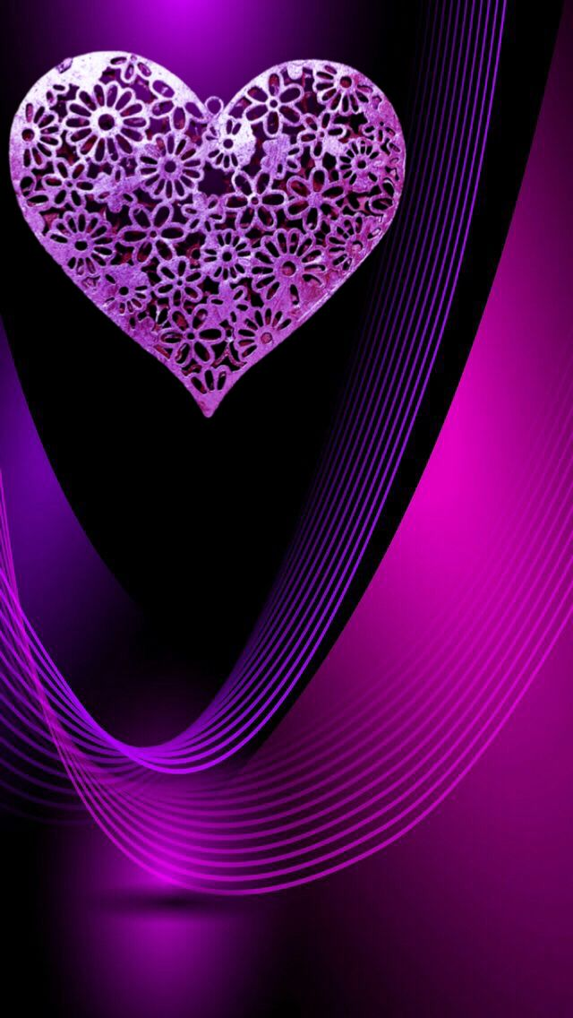 purple heart iphone wallpaper wwwpixsharkcom images