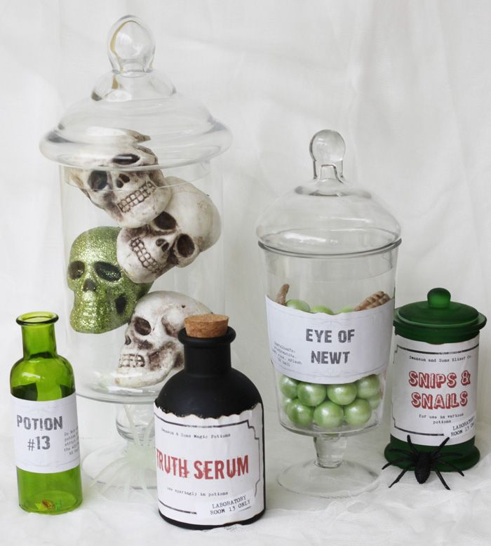 halloween potion labels (free printable) @Valorie Beeckman