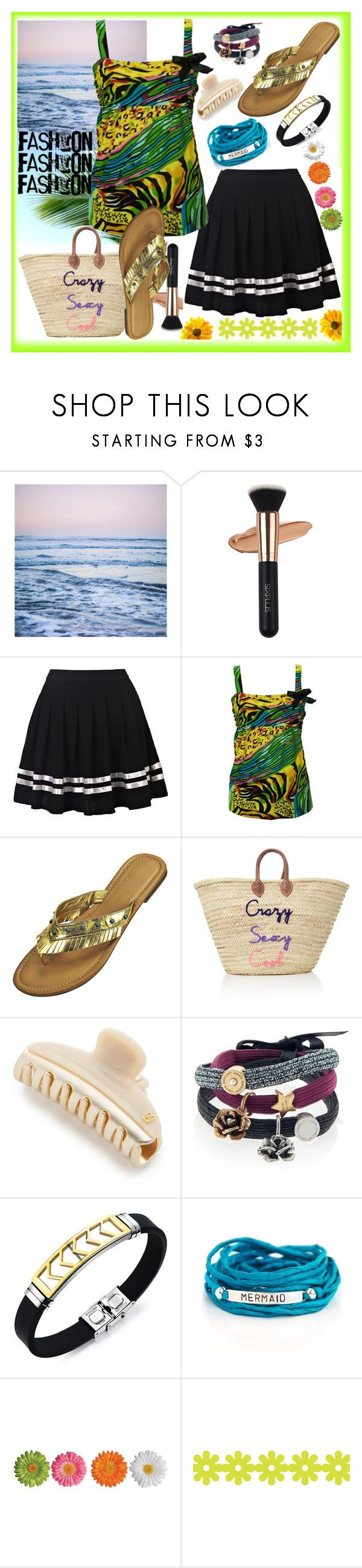"""Summer Night Dinner Date"" by westcoastcharmed ❤ liked on Polyvore featuring Leah Flores, Alexandre de Paris, Marc Jacobs and Blooming Lotus Jewelry"