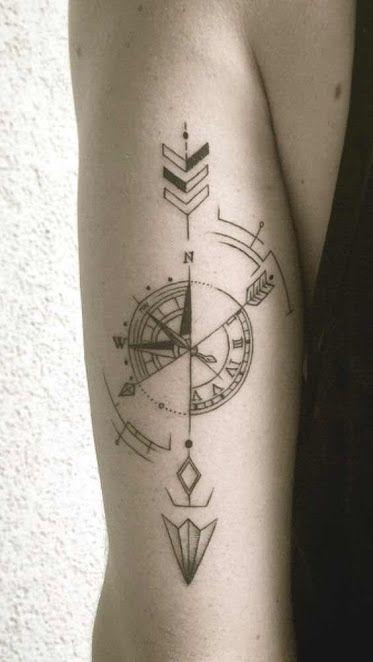 50 intensive geometrische Tattoos Designs und Ideen für Männer und Frauen #des…
