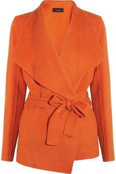 Joseph  Lisa wool and cashmere-blend felt coat