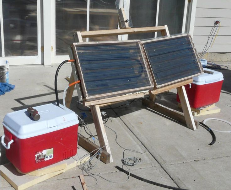 Comparing Solar Collector Performance -- Small Panel Tests