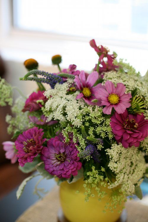 I first fell in love with Queen Anne's Lace when I saw it used in floral arrangements at a wedding reception.