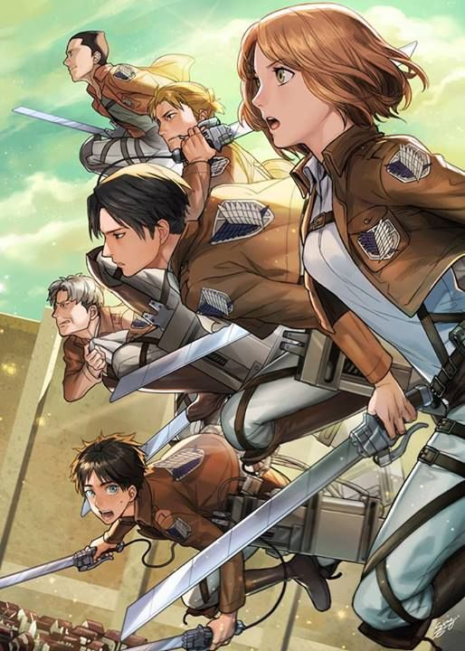 Attack on Titan - artist?