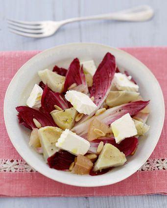 Salade joli coeur au Caprice des Anges