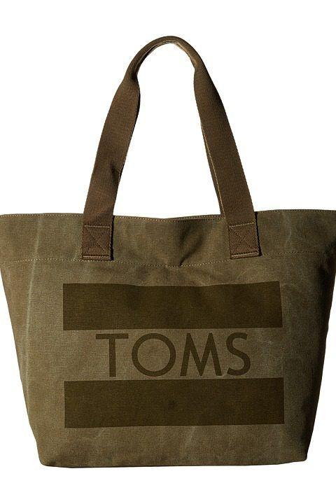 TOMS Flag Tote (Medium Green) Tote Handbags - TOMS, Flag Tote, 10008867-310, Bags and Luggage Handbag Tote, Tote, Handbag, Bags and Luggage, Gift, - Street Fashion And Style Ideas