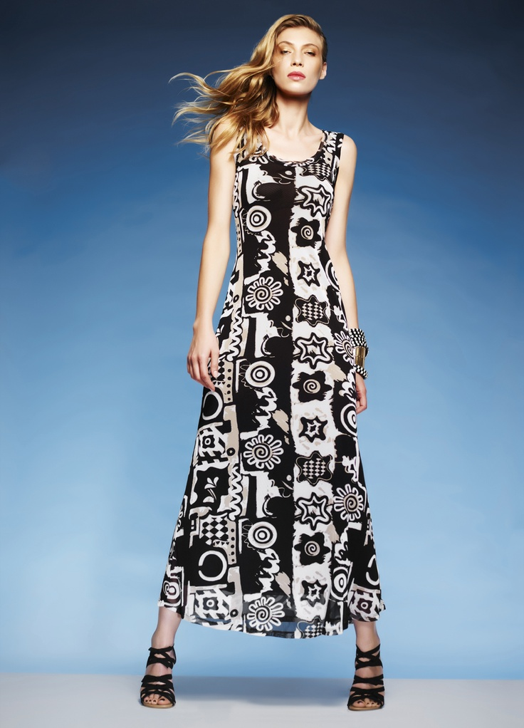 Paula Ryan Singlet dress and Gladiator cuff