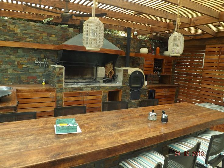 Quincho tirado bbq pinterest quinchos terrazas y asador for Terrazas de madera modernas