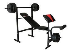 Body Champ Standard Weight Bench With 100 Lb Weight Set From Big 5 Sporting Goods 27