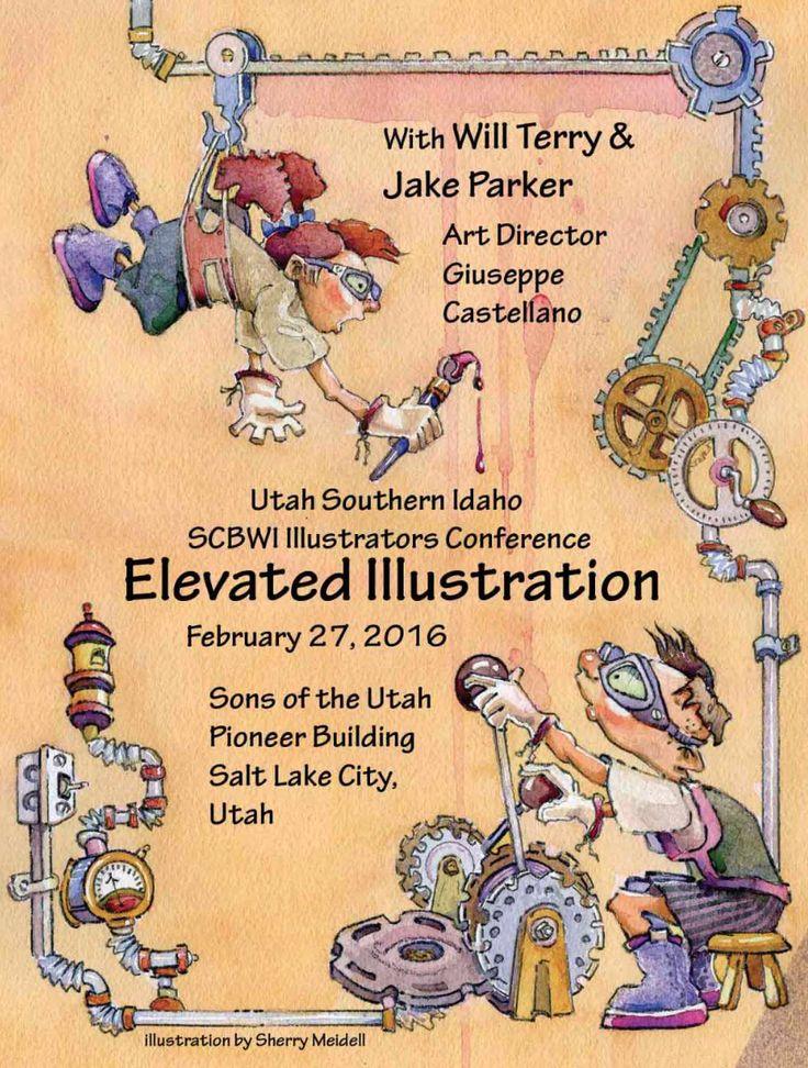 Utah/Southern Idaho SCBWI Illustration Conference 2016 | INK