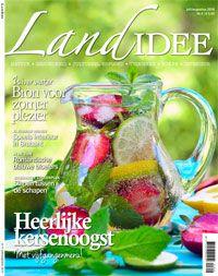 Cover LandIdee juli-augustus #cover #magazine #tijdschrift #holland #landidee