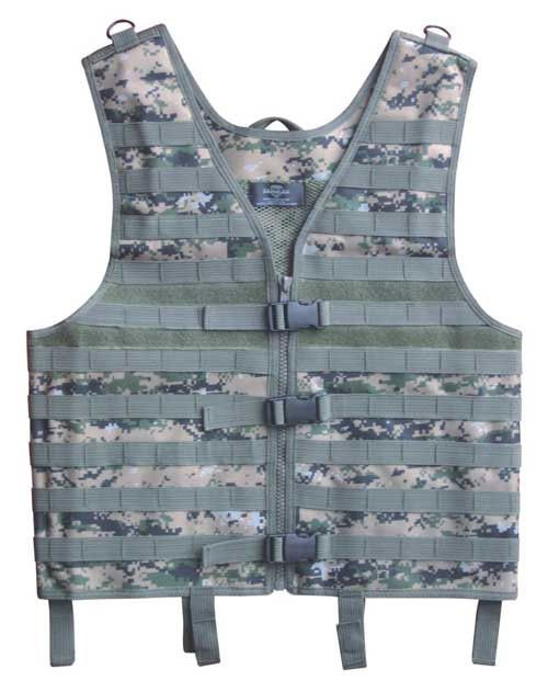 Mens Airsoft Tactical Vest Military Molle Vest Sport Modular Combat Gear