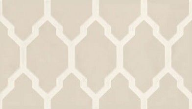 Tessella (BP 3601) - Farrow & Ball Wallpapers - The geometric, unique pattern commands attention. It's bravely bold and addictively elegant. Shown in off white and beige - more colours are available. Please request a sample for true colour match.