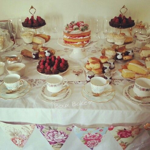 Boux Bakes Afternoon Tea bakes