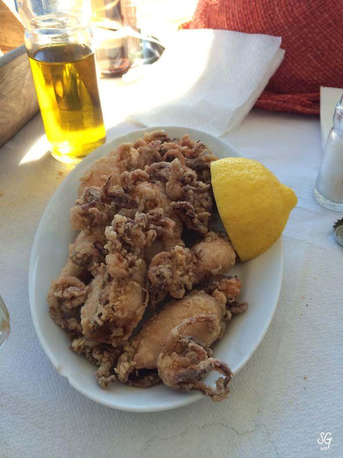 fried calamaris squid - greek dishes - seafood - sarah gabrielle inspirations