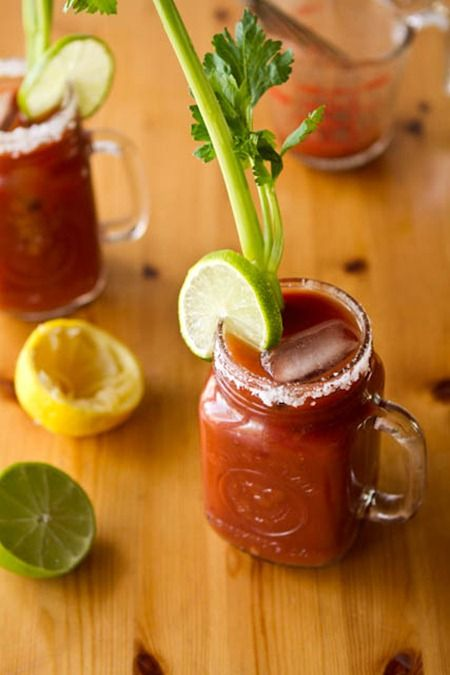 """All this needs is a little Mt. Mazama, Habinero pepper infused Vodka and you got yourself one heck of """"Bloody Mary"""""""