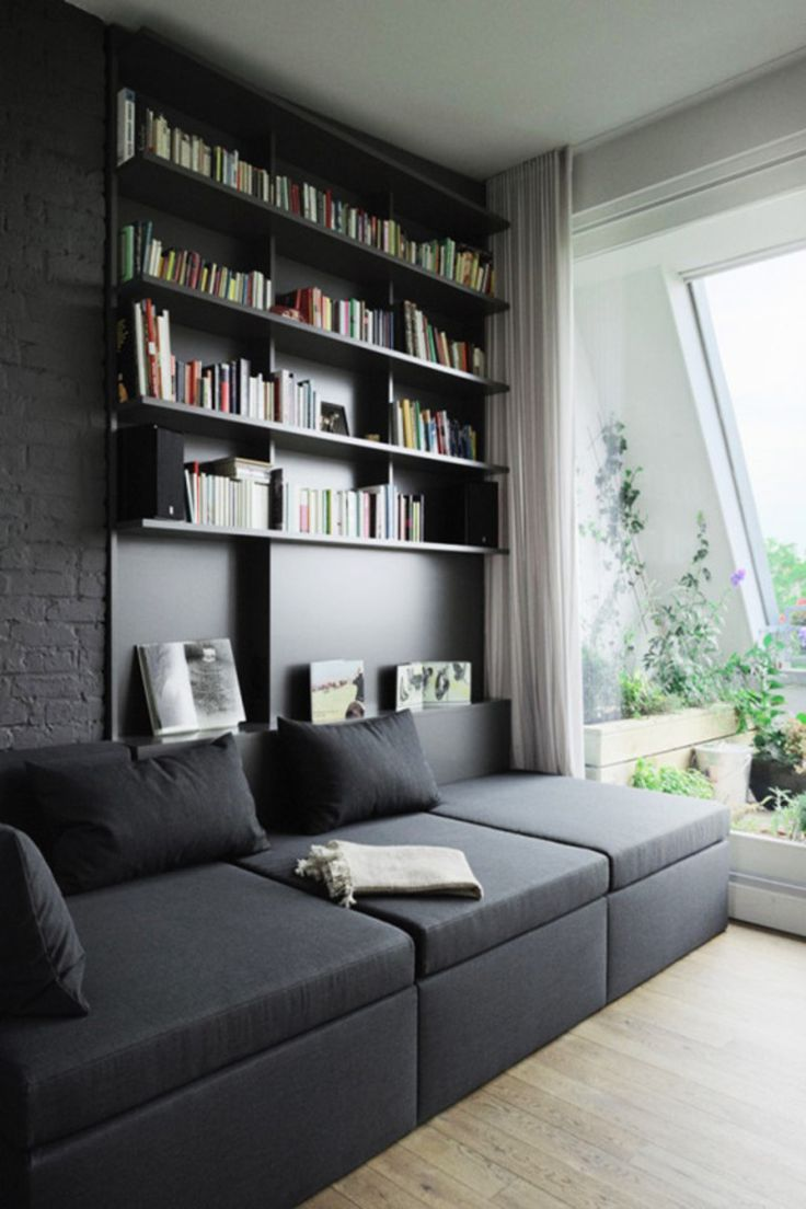 Living Room Bookcases 17 Best Ideas About Bookcase Behind Sofa On Pinterest Small
