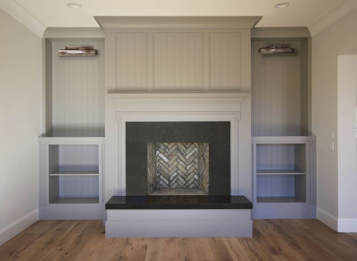 Living Room Fireplace Boasts A Gray Fireplace Wall Fitted