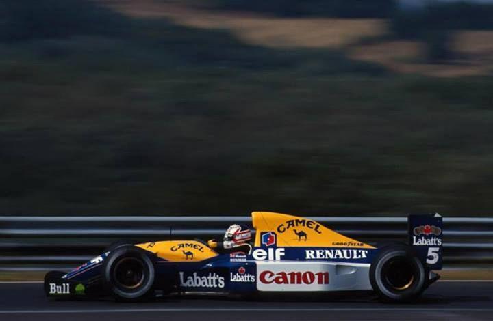 f1 1992 Williams-Renault FW14B, Nigel Mansell
