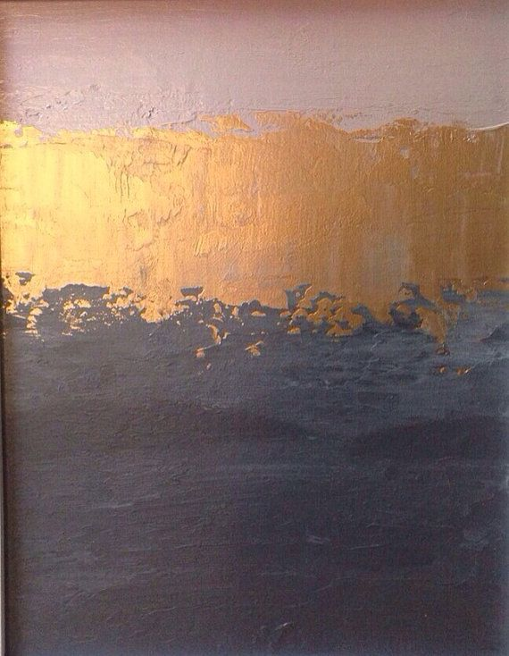 Sul blocco di vendita pittura astratta di JenniferFlanniganart