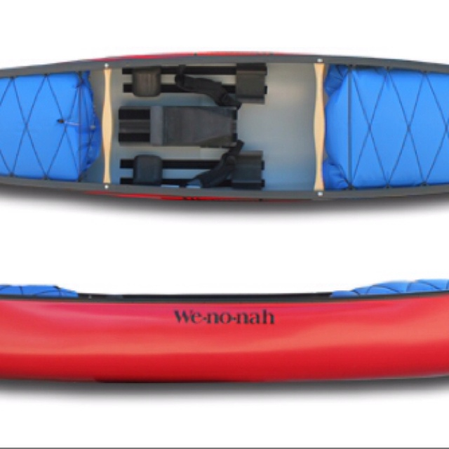 Whitewater canoes are in. Kayaks are out.
