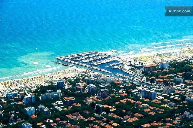 Cervia, Milano Marittima beach in Cervia
