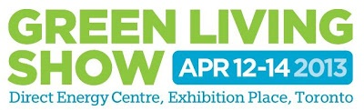 Come visit our booth at the Green Living Show this April 2013