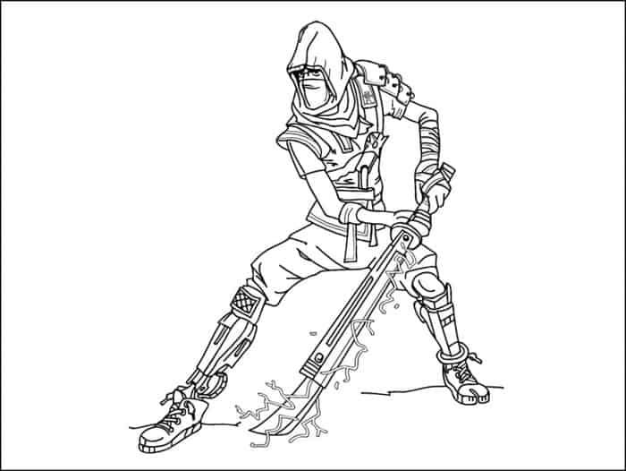Ninja Fortnite Coloring Pages Coloring Pages Cartoon Coloring Pages Paw Patrol Coloring
