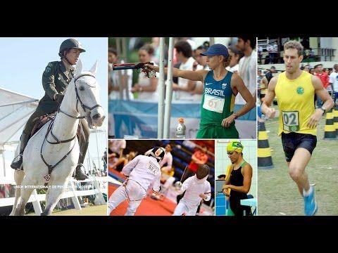 Olimpíada Rio 2016 - Pentatlo moderno - YouTube