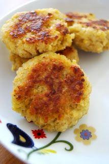 Galettes végétariennes lentilles corail + boulgour