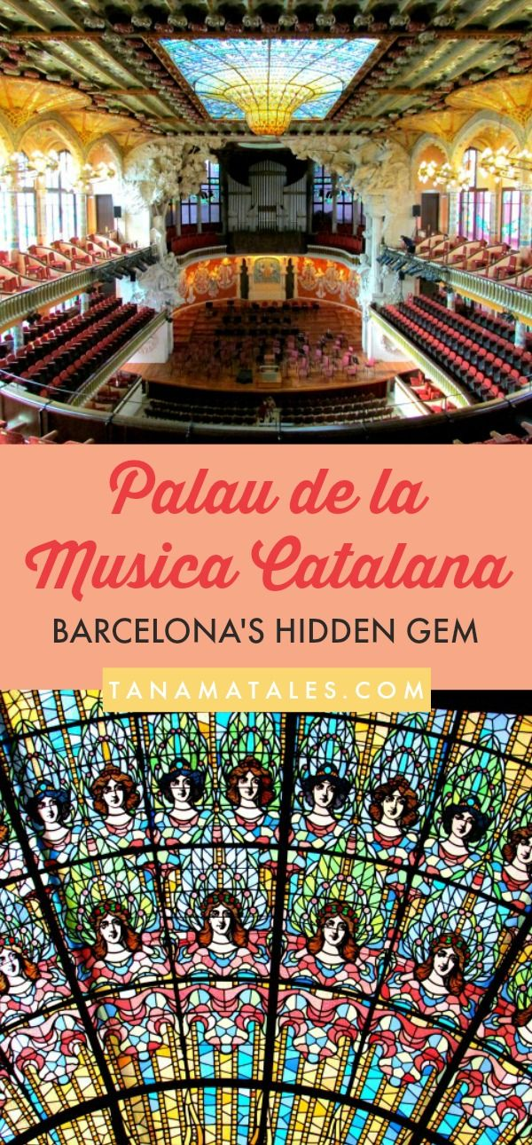 #Barcelona, #Spain - Things to do and travel tips - This is going to sound like a bold statement but a visit to Barcelona is not complete if you do not visit The Palau de la Musica Catalana, a concert hall designed in a Modernist style by the architect Lluis Domenech i Montaner.  Yes, all of Gaudi's structures are great but this place is in its own league.