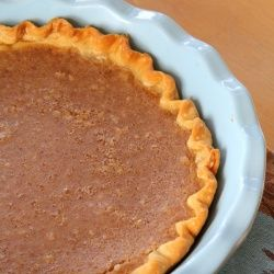 Unusual pie -- mashed beans are in the filling for Sweet Bean Pie, and it's spiced like pumpkin.