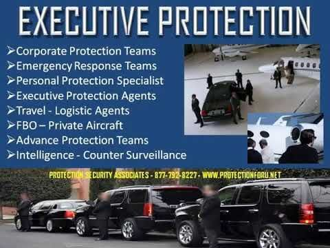 Protection Security Associates provides superior security - executive protection specialist