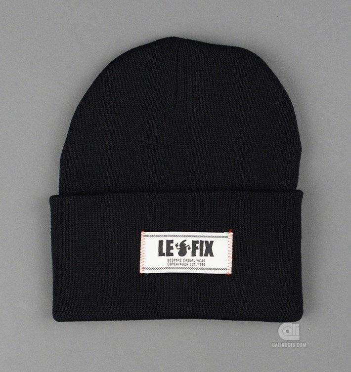 Le Fix Beanie - 29 EUR at Cali OG Store by Caliroots - The Californian Twist of Lifestyle and Culture
