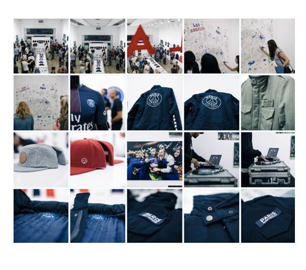 Paris Saint-Germain has become the first club in the world to open a premium curated pop-up store located on the hype Fairfax Avenue, LA.  #psg #LA #popup