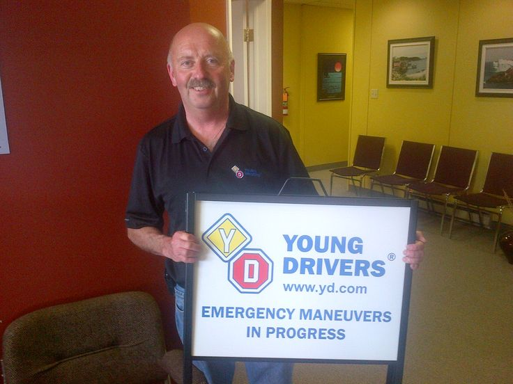 Ready to pass your road test? Young Drivers of Canada Instructor Gerry will help. Driving school #Newfoundland https://www.yd.com/StJohns/default.aspx
